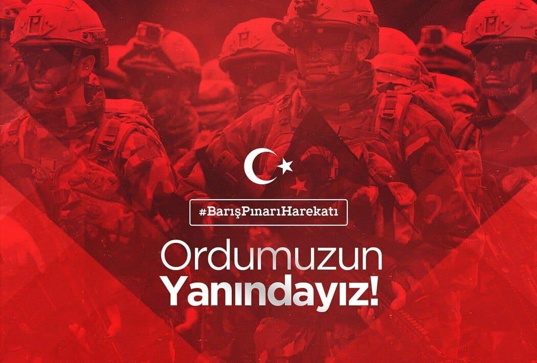 Barış Pınar Harekatı Operasyonu