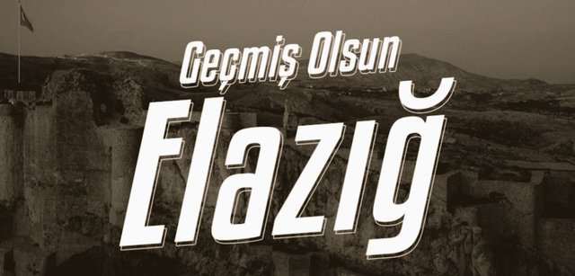 Elazığ'da depremde Ölen'lere  acil şifalar diliyoruz.