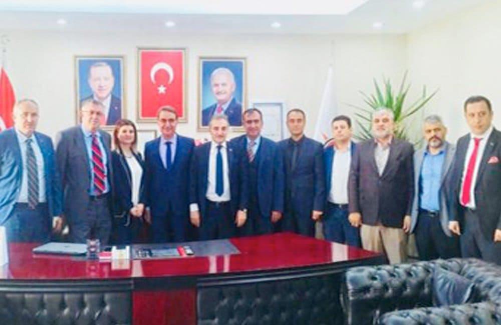 Mardin İl Emniyet Müdürü Sayın Hasan Onar'ı Makamında Ziyaret Ettik