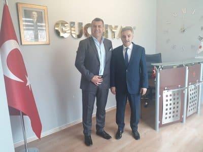 Merter Sanayi İşadamları  Gn Başkan'ı Yusuf GECÜ  Genel Merkezimiz'de Gn Başkan Turgay ERENCE'nin  Ziyaretinde Bulundu